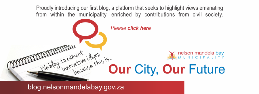 Nelson Mandela Bay Municipal Blog - Our City - Our Future